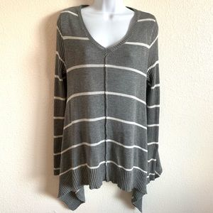 Anthro Lovemarks | knitted striped sweater